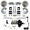 70 Mustang Front Power Disc Brake Conversion Kit - use on automatic transmission equipped car