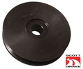 STEEL HI-PO ALTERNATOR PULLEY-BLACK FINISH