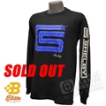 SHELBY SIGNATURE LOGO LONG SLEEVED T-SHIRT BLACK *SPECIFY SIZE*