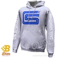 SHELBY SIGNATURE LOGO HOODED SWEATSHIRT GREY  *SPECIFY SIZE*