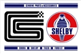 SHELBY GENUINE PARTS METAL SIGN - 11 X 17
