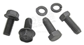67-68 390,427,428 CLUTCH EQUALIZER BAR FRAME AND ENGINE SIDE MOUNTING BRACKET BOLTS SET OF 4