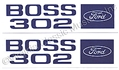 69-70 BOSS 302 VALVE COVER DECALS-PAIR *CONCOURS*