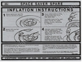68-70 SPACE SAVER TRUNK LID INSTRUCTION DECAL