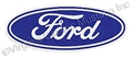 "3 1/2"" FORD OVAL DECAL"