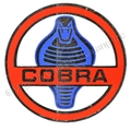 "3"" ROUND COBRA DECAL"