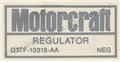 73 WITH AIR VOLTAGE REGULATOR DECAL