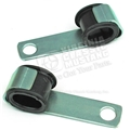 65-73 STARTER CABLE BRACKETS-PAIR FITS 260, 289, 302, 351W, 390, 428CJ