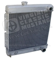 65-66 V8 ALUMINUM RADIATOR (AUTOMATIC TRANSMISSION) NEW LOWER PRICE