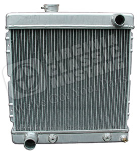 65-66 V8 ALUMINUM RADIATOR WITH LATER MODEL 302 ENGINE