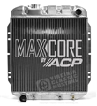 65-66 Mustang Aluminum Radiator V8 5.0 Conversion - Original Equipment Style - 2 Row Performance