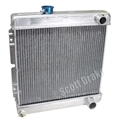 65-66 V8 ALUMINUM RADIATOR (MANUAL TRANSMISSION)