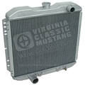 70 302, 351W ALUMINUM RADIATOR - BOLT IN STYLE