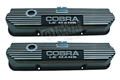 BIG BLOCK (FE) COBRA LEMANS VALVE COVERS BLACK-PAIR