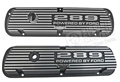 """289"" ALUMINUM VALVE COVERS-PAIR"