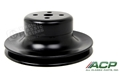 65-67 Mustang Water Pump Pulley - Single Groove - Black - 289