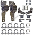 "67-70  2"" DUAL EXHAUST HANGER KIT"