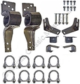 "67-70  2 1/4"" DUAL EXHAUST HANGER KIT"
