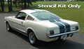 65-68 Stencil Kit for Painting LeMans Stripes