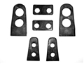 69-70 FASTBACK REAR WINDOW LOUVER RUBBER GASKET SET