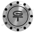 65-73 BILLET ALUMINUM GAS CAP WITH GT EMBLEM