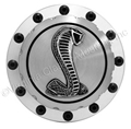 65-73 BILLET ALUMINUM GAS CAP WITH COBRA EMBLEM