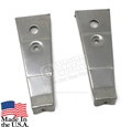 66 Fog Light Bar Brackets for Grill - Pair