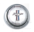 67 Mustang Pop Open Gas Cap with Running Horse Emblem