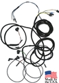 66 FASTBACK TAIL LIGHT WIRING HARNESS WITH INTEGRATED TAIL LIGHT PLUGS/BOOTS