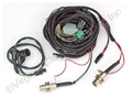 67 COUPE / CONVERTIBLE TAIL LIGHT WIRING HARNESS W/LOW WARNING-WITH NEW BULB SOCKETS