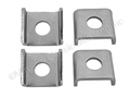 65-66 TAIL LIGHT BODY SPACER CLIPS-SET OF 4