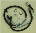69-70 HOOD MOUNTED TURN SIGNAL INDICATOR WIRING WITH LIGHT SOCKETS