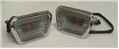 68 FRONT SIDE MARKER LIGHT ASSEMBLYS-PAIR