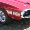 69-70 White Shelby GT350 Stripe Kit
