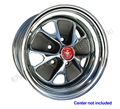 14 X 7 CHROME STYLED STEEL WHEEL