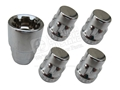 LOCKING LUG NUTS-CHROME-SET OF 4