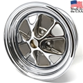 14 X 6 CHROME STYLED STEEL WHEEL