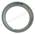 66-69 STYLED STEEL WHEEL TRIM RING STAINLESS STEEL