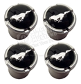 Pony Logo Valve Stem Caps for Mustang set of 4