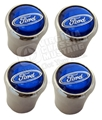 FORD LOGO VALVE STEM CAP-SET OF 4