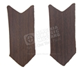 65-66 WOODGRAIN INSERTS FOR PONY DOOR HANDLE- PAIR