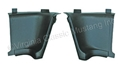 65-66 FASTBACK INTERIOR REAR QUARTER TRIM CORNER PANELS-PAIR (BETWEEN LARGE PANELS AND TRAP DOOR)