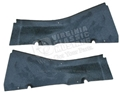 65-66 FASTBACK REAR INTERIOR UPPER CORNER TRIM PIECES-PAIR