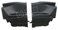 69-70 FASTBACK REAR INTERIOR QUARTER TRIM PANELS-PAIR