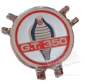 66 GT-350 STEERING WHEEL CAP EMBLEM ONLY
