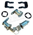 67-69 2 DOORS AND IGNITION LOCK SET