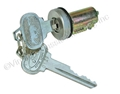 65-66 TRUNK LOCK CYLINDER WITH PONY KEYS