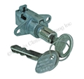 67-68 GLOVE BOX LATCH / BUTTON (LOCKING STYLE WITH KEY)