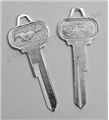65-66 PONY TRUNK KEY BLANK