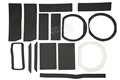 69-70 Mustang Heater Foam Kit - with AC